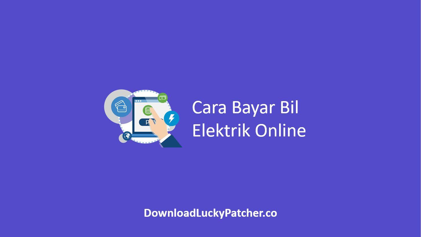 Cara Bayar Bil Elektrik Online
