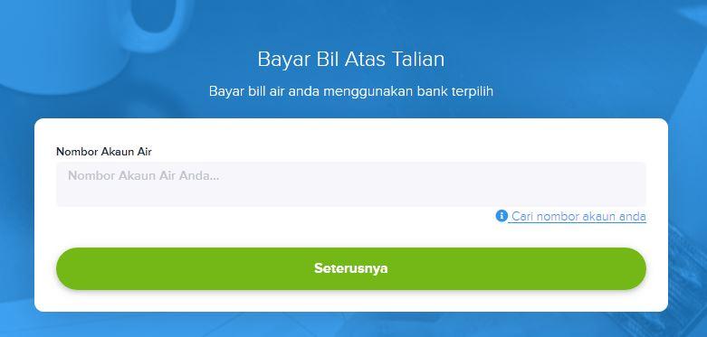 Check Bil Air Selangor Online