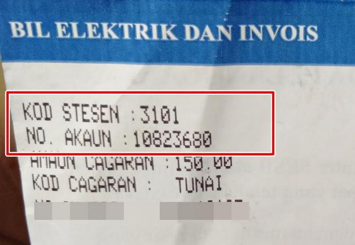 Check Bill Elektrik SESB