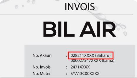 Lupa No Akaun Bil Air Selangor